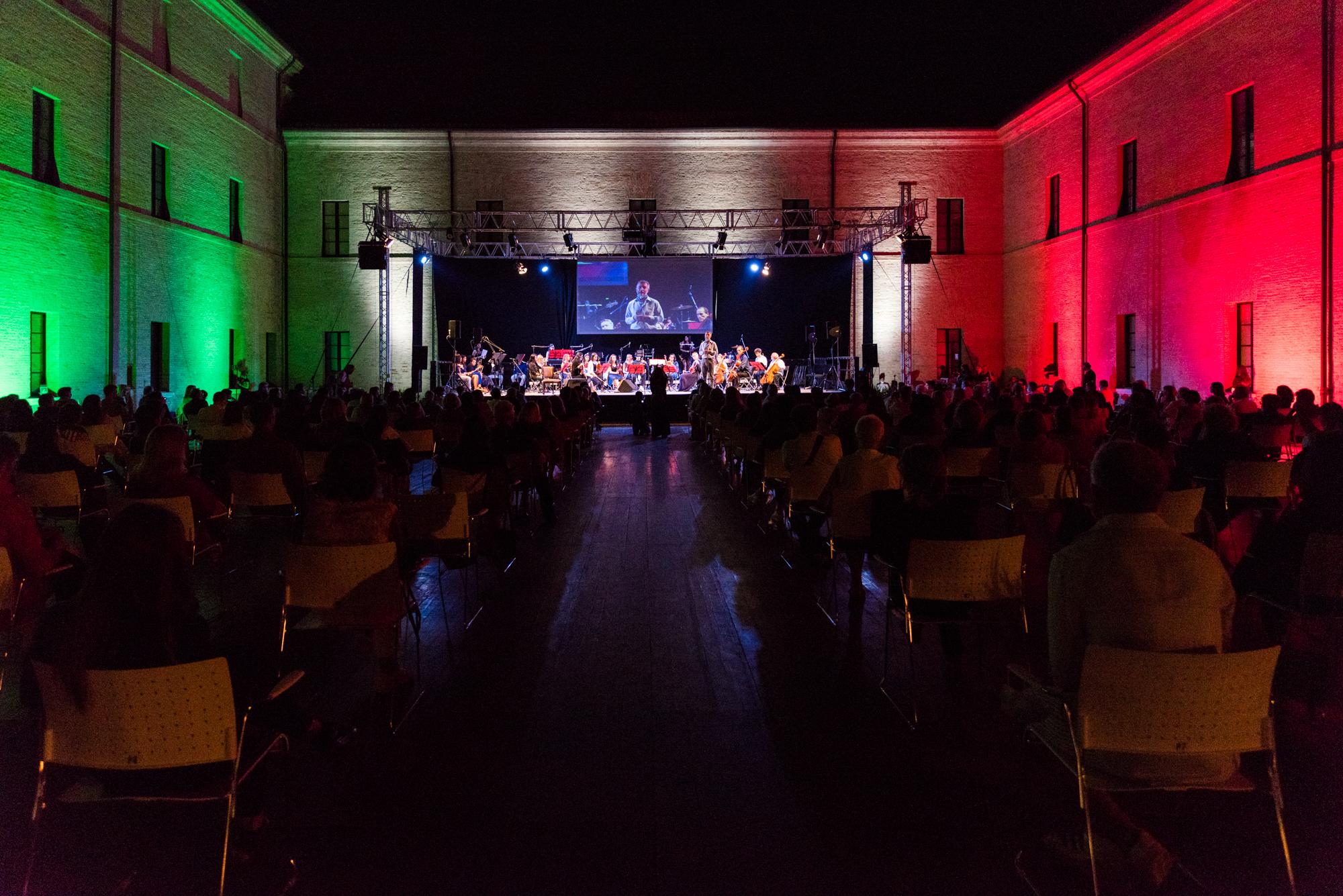 Serata del Festival Caterina in Arena San Domenico settembre 2020