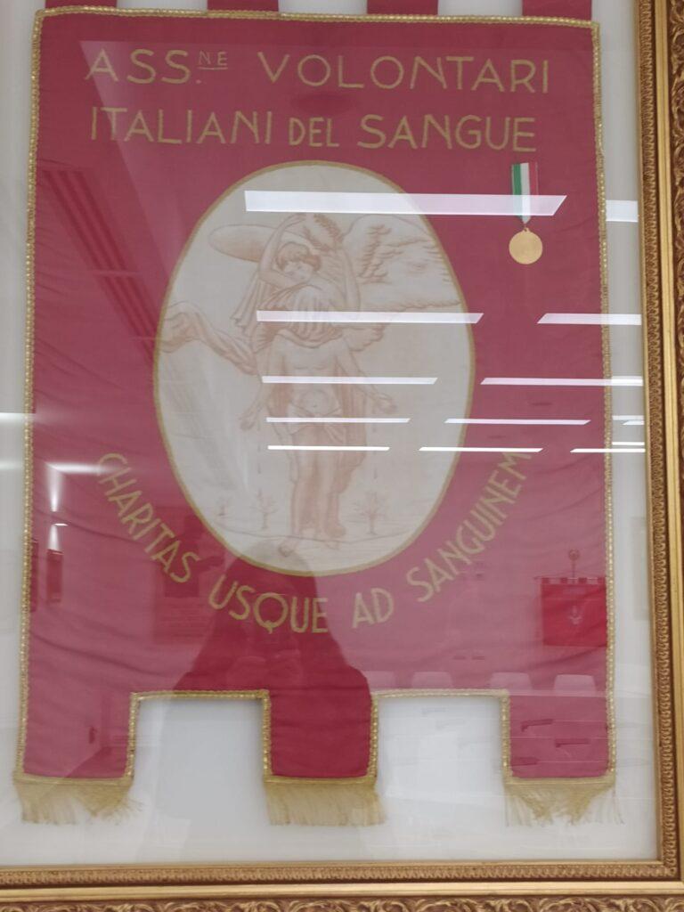 Avis Forlì: lo stendardo con la medaglia d'oro
