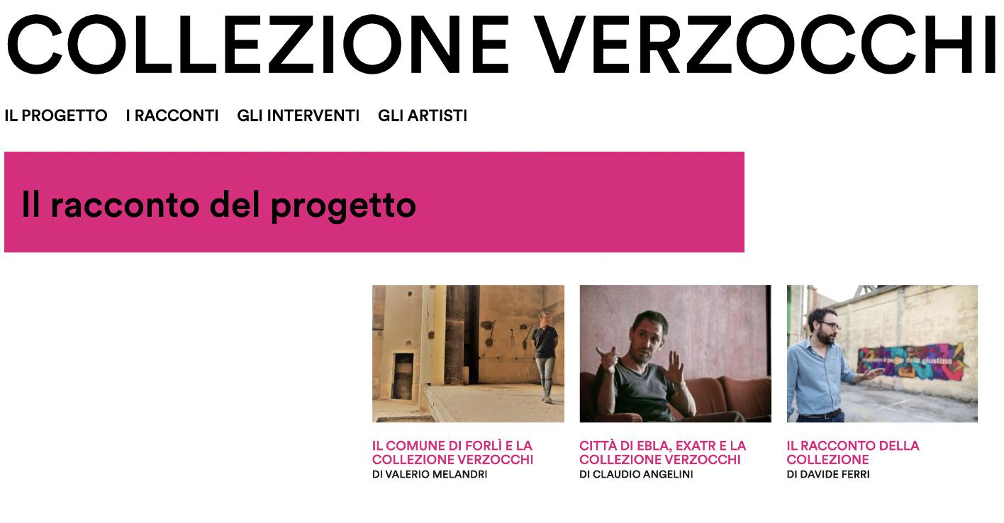 Collezione Verzocchi sul lavoro Comune di Forlì Città di Ebla