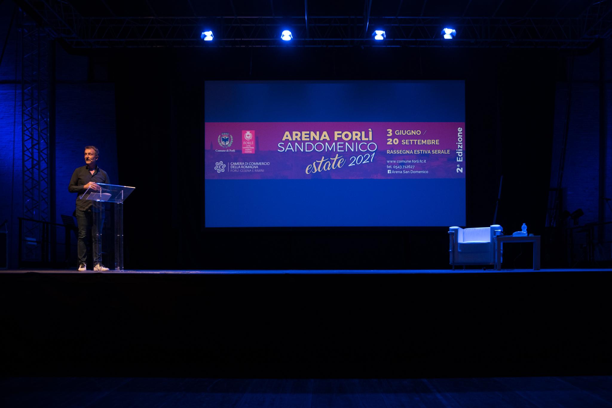 Forlì Assessorato alla cultura Arena San Domenico 2021