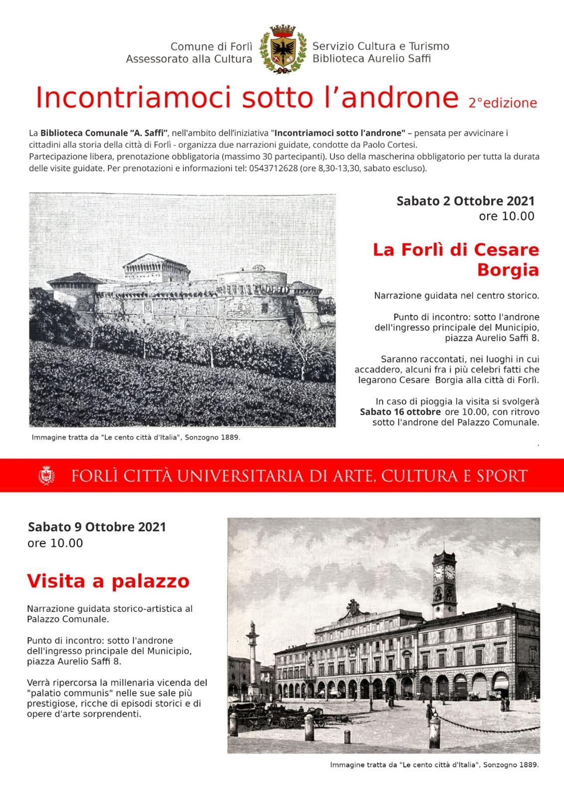 Forlì visite guidate al Palazzo Comunale